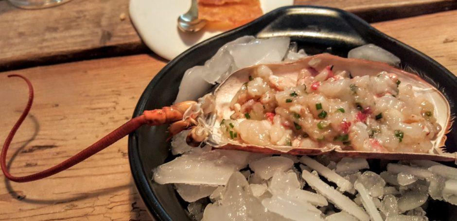 Lobster tartare Suculent