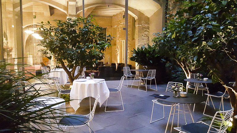 Mercer courtyard