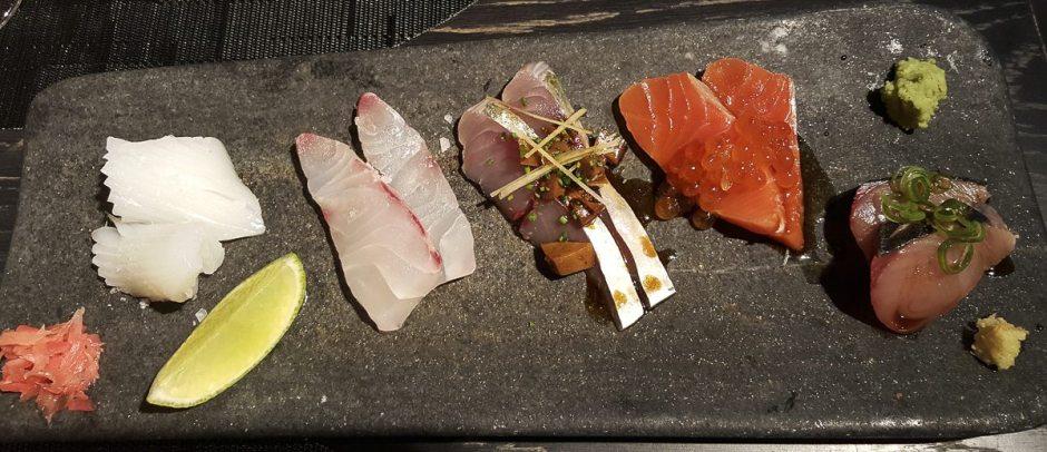 Raw fish espai Kru