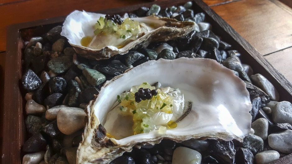 Lindisfarne oysters House of Tides