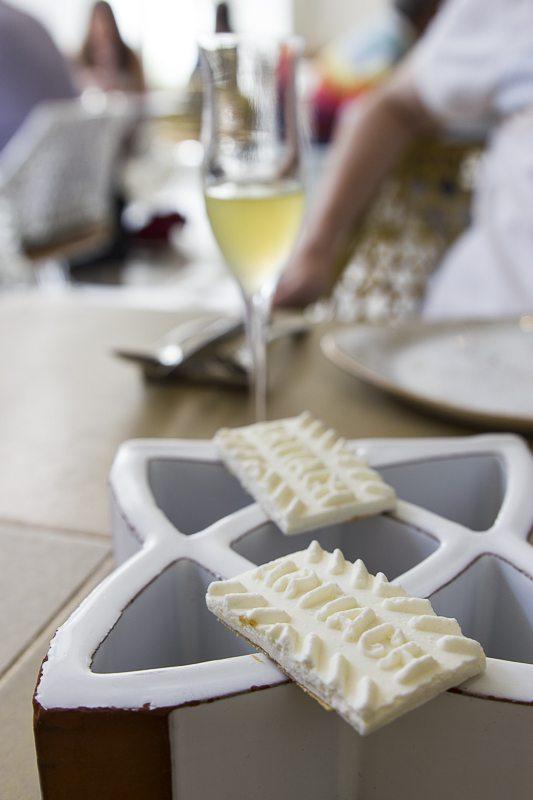 Idiazabal cheese biscuit Disfrutar