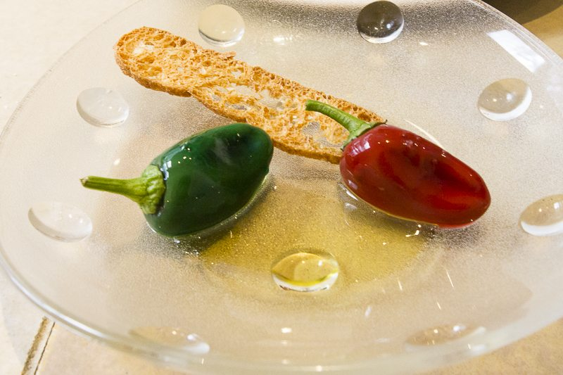 Chocolate peppers, Disfrutar