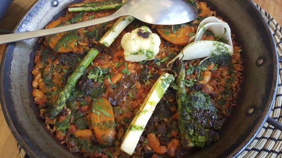 Vegetable paella Barraca