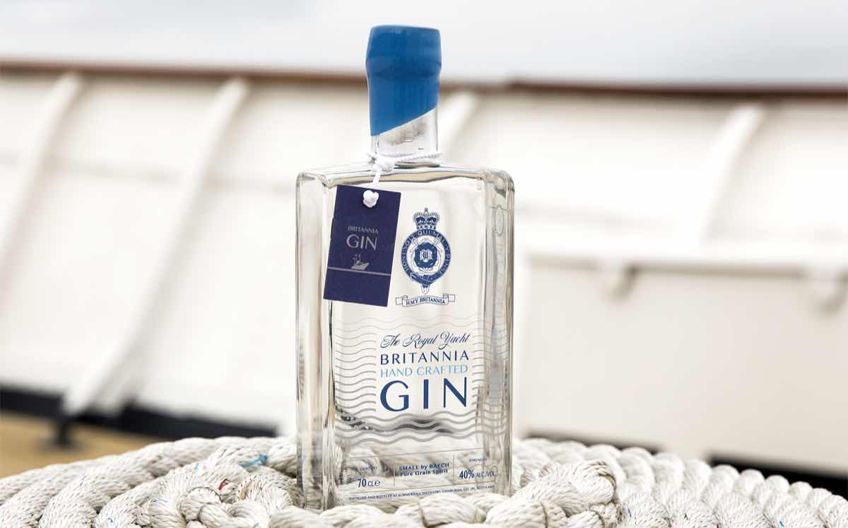 Scots distiller's latest gin pays tribute to former royal yacht
