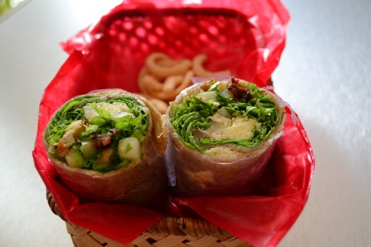 Bacon-Grilled Chicken Wrap