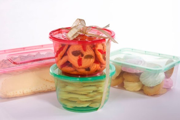 Ready Wrap Container for Valentines Day