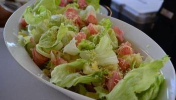 Pomelo Salad Honey Mustard Dressing recipe