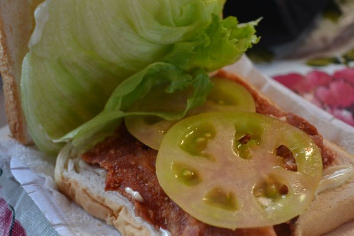 Aling Foping's Special Halo Halo special Bacon Lettuce Tomato, BLT