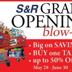 S&R Davao Membership Shopping Grand Opening Today!