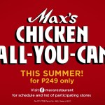 Get ready for Max's Restaurant Chicken All You Can