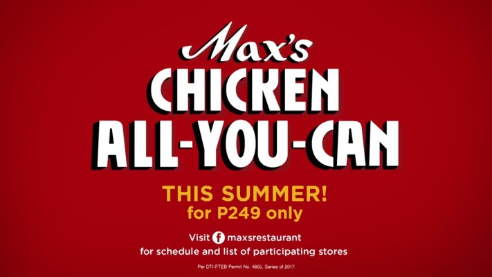 Max's Chicken All You Can