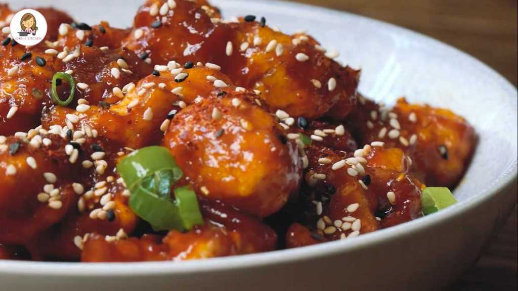 Korean Spicy Fried Chicken Recipe