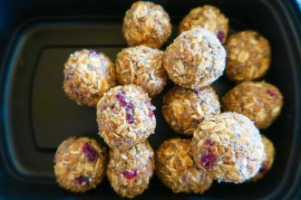 Cranberry Oat Crunch Balls