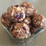 Cranberry Oat Crunch Balls