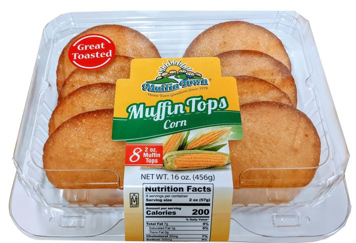 Muffin Town muffin tops