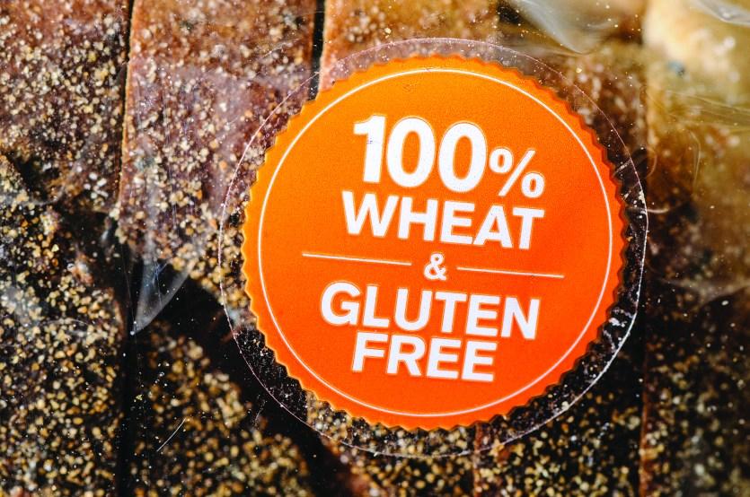 Gluten-free label