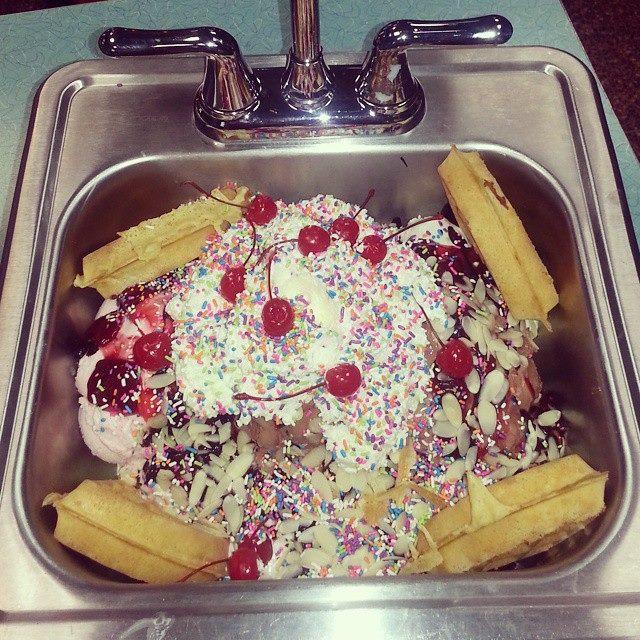 kitchen sink ice cream sundae challenge