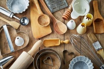 Keittiötarvikkeita