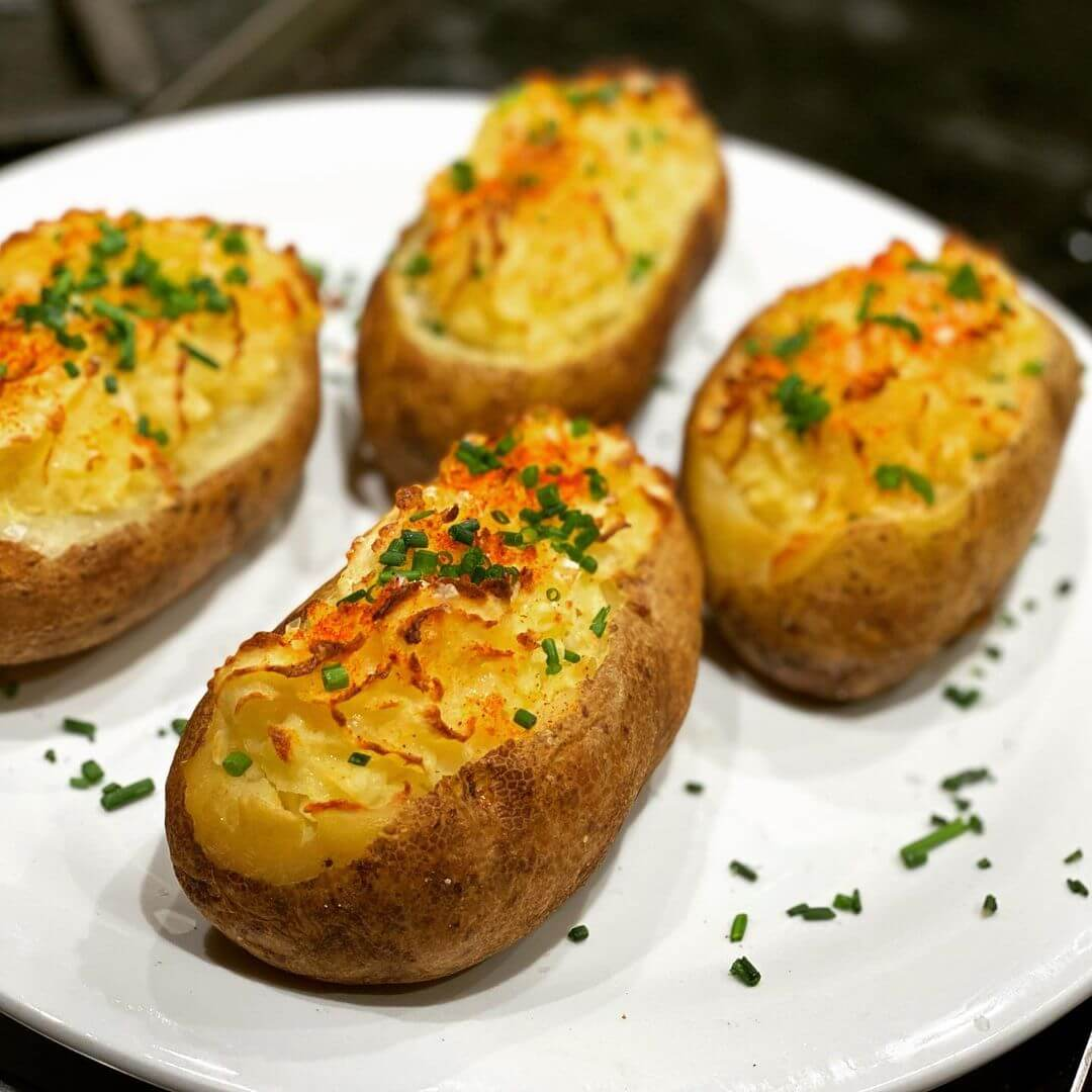 how to cook a baked potato in a combination microwave oven