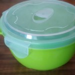Green Microwave Noodle Bowl