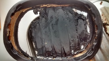 Food Fail Toad In The Hole Melted Dish