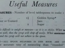 Atora Suet Recipe Book Useful Measures Convert