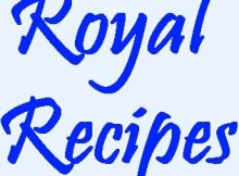 Royal Recipes TV Programme 2017