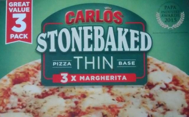 Carlos Stonebaked Margherita Pizza Food Cheats