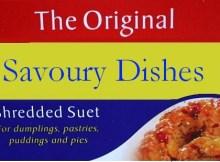 Atora Suet Recipe Book Vintage Box Savoury Dishes