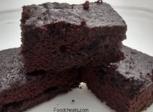 Microwave After Eight Mint Chocolate Brownies Recipe