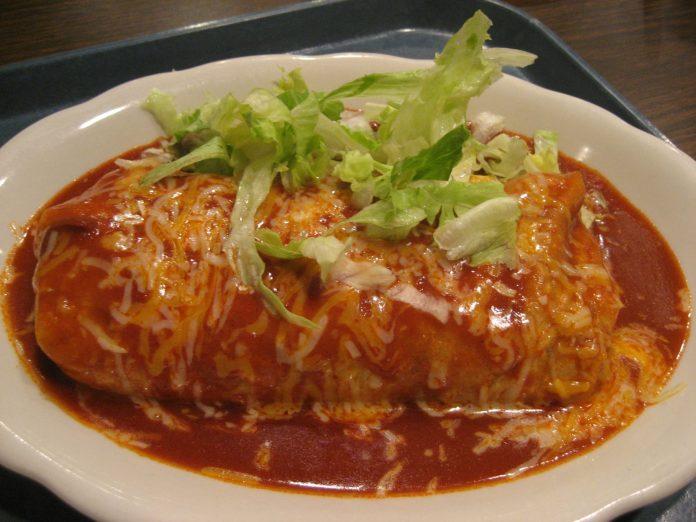 Dianas wet burrito