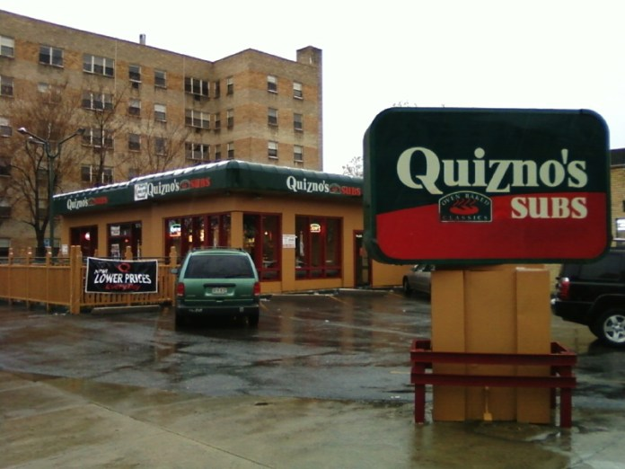 The first Quizno's Subs restaurant,