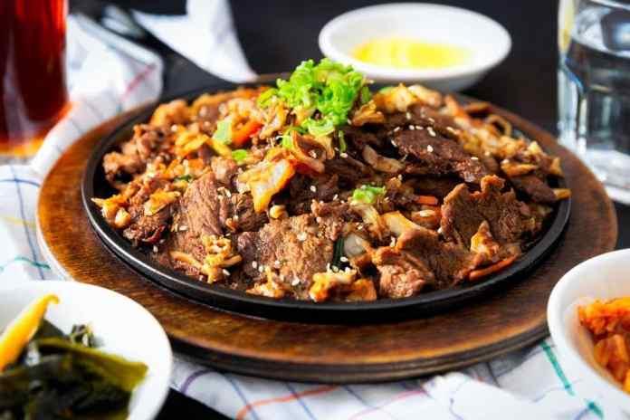 Korean-Style Tacos with Kogi BBQ Sauce