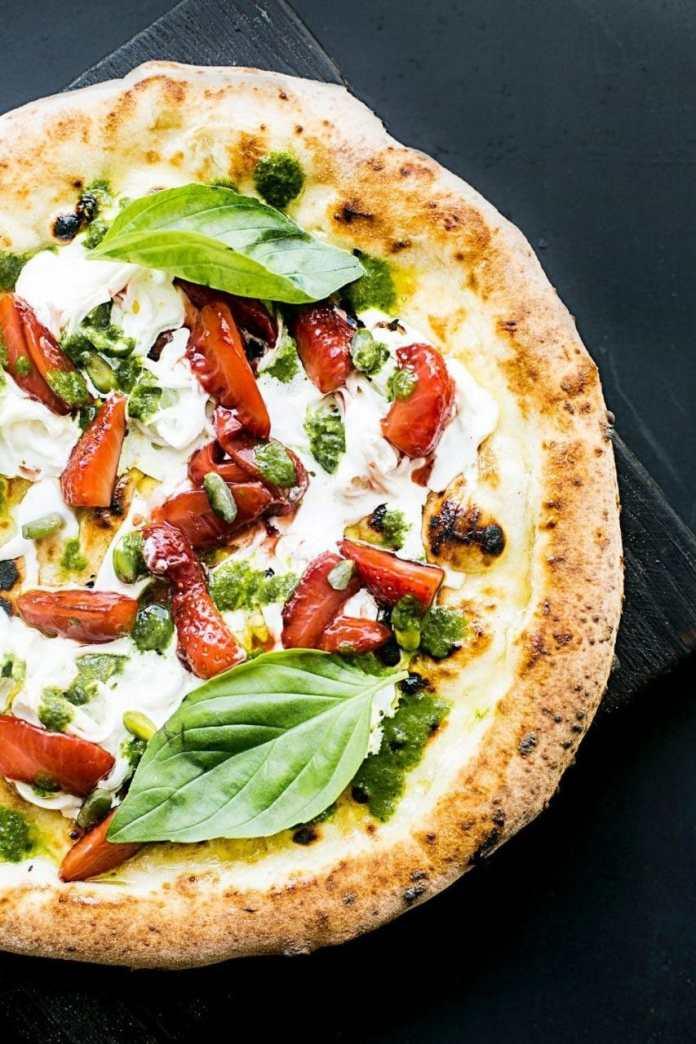 Oddball pizza night:  Balsamic Pizza