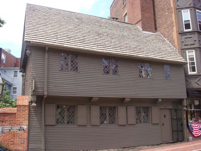 Parker's Place was also known as the Paul Revere House