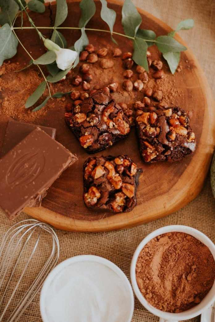 Nutty baked goods