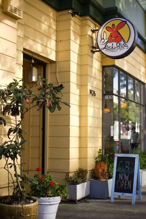 Lucky Bird restaurant (photographed by Morgen Sechler – 6/25/2020)