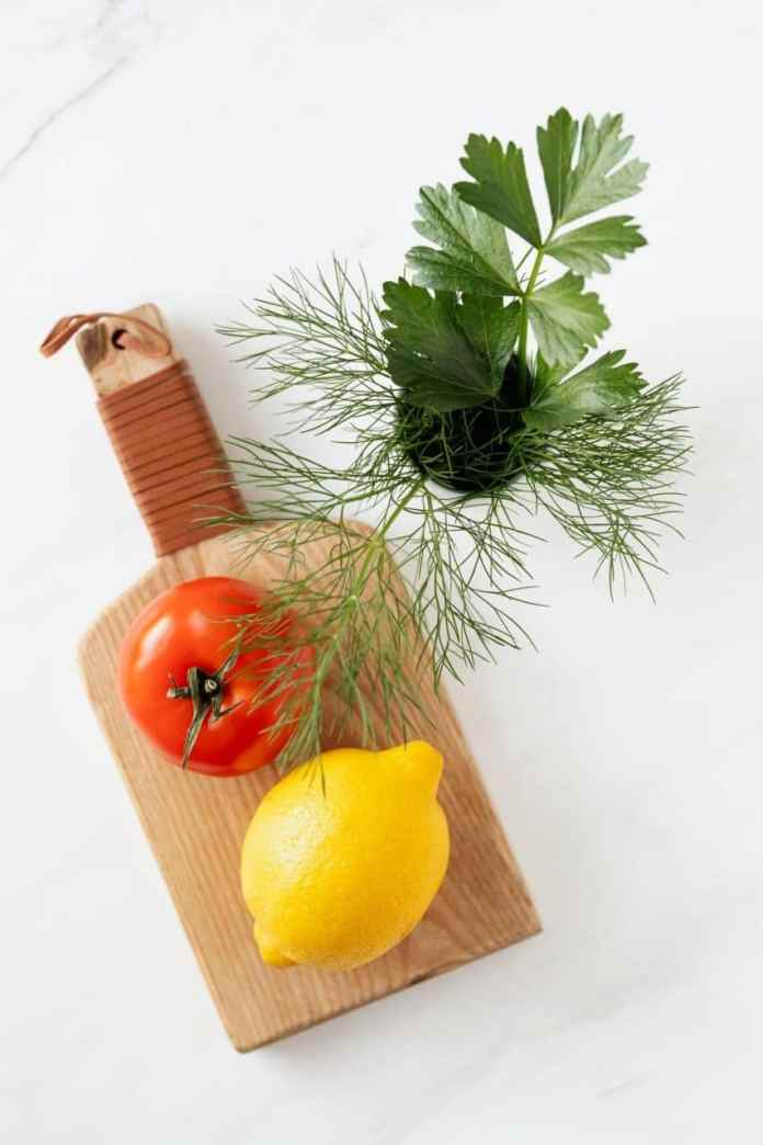 Fat-Free Chilled Tomato and Dill Mousse
