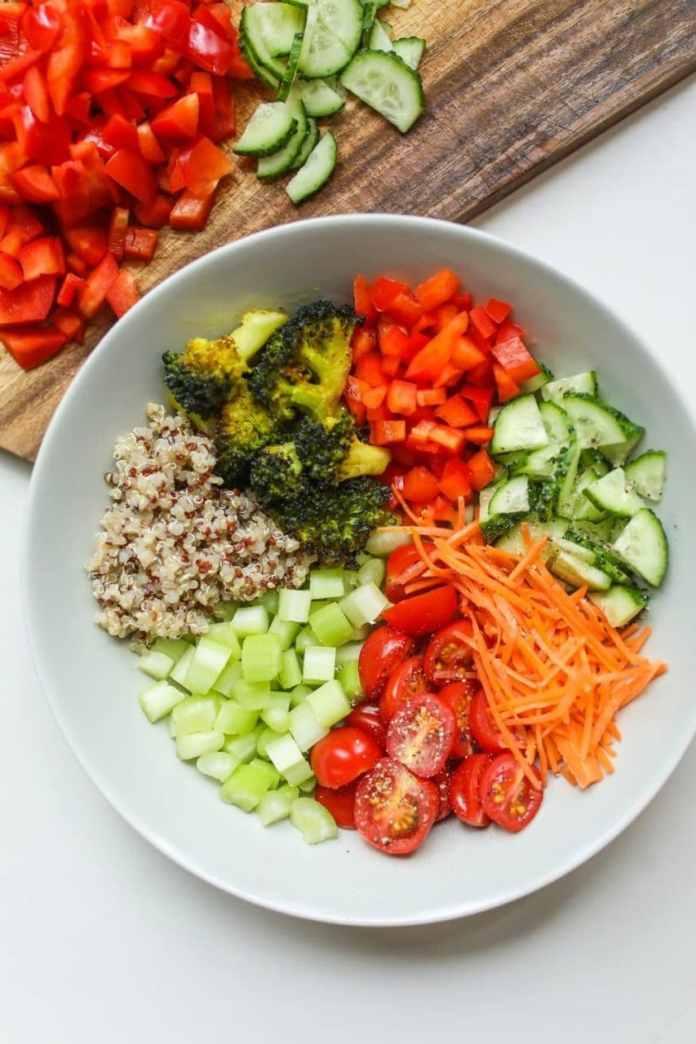 Vegetarian Grain Bowl