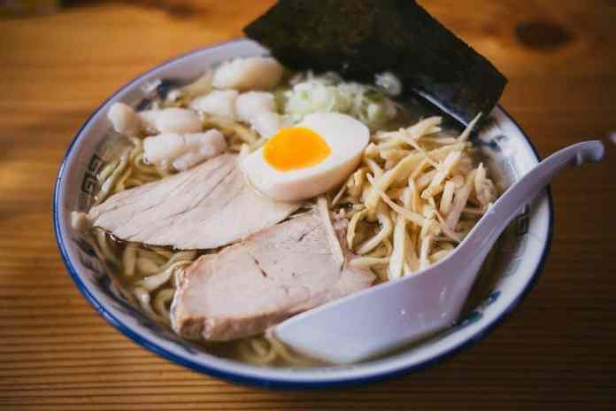 In the mood for Japanese? Whole chicken shoyu ramen
