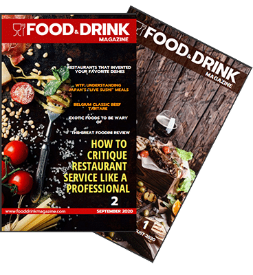Food drink magazine Issue 1