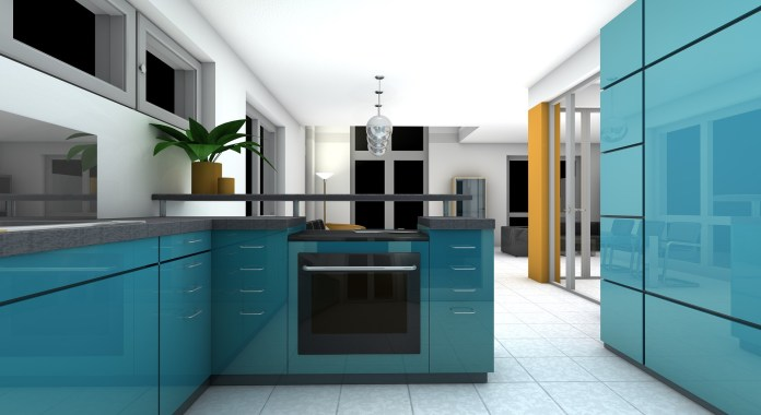 Is the color of your kitchen influencing your eating habits?