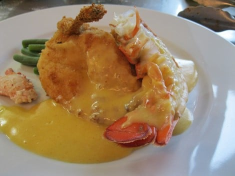 Chicken and Lobster with Easy Hollandaise