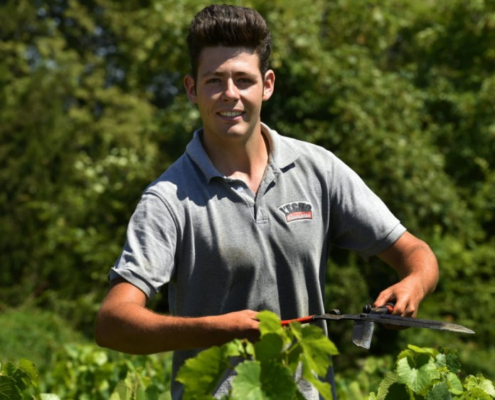 """TOP 50 YOUNG WINEMAKERS; interview with the """"best new acts"""": vigneron Yann Bertrand and Maximilian Girardi."""