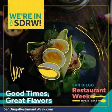 San Diego Restaurant Week @ SAN DIEGO