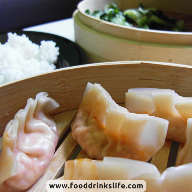 Kimchi Dumplings Close-Up | Food Drinks Life