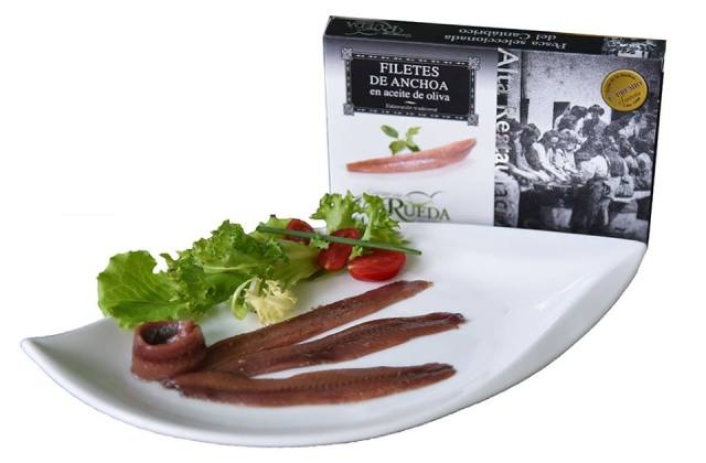 Acciughe del Cantabrico in olio di Oliva - Rueda