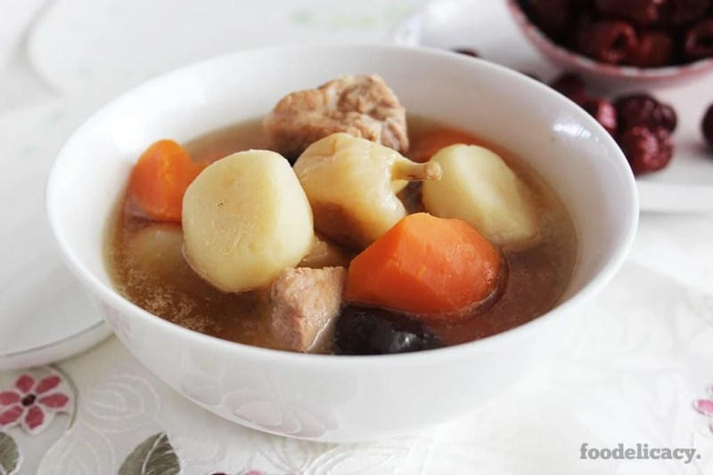 Water_Chestnut_and_Pork Ribs_Soup_2