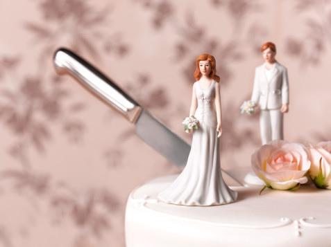 knives kitchen trolley cart 分手快乐──庆祝离婚的蛋糕 | 为食主义