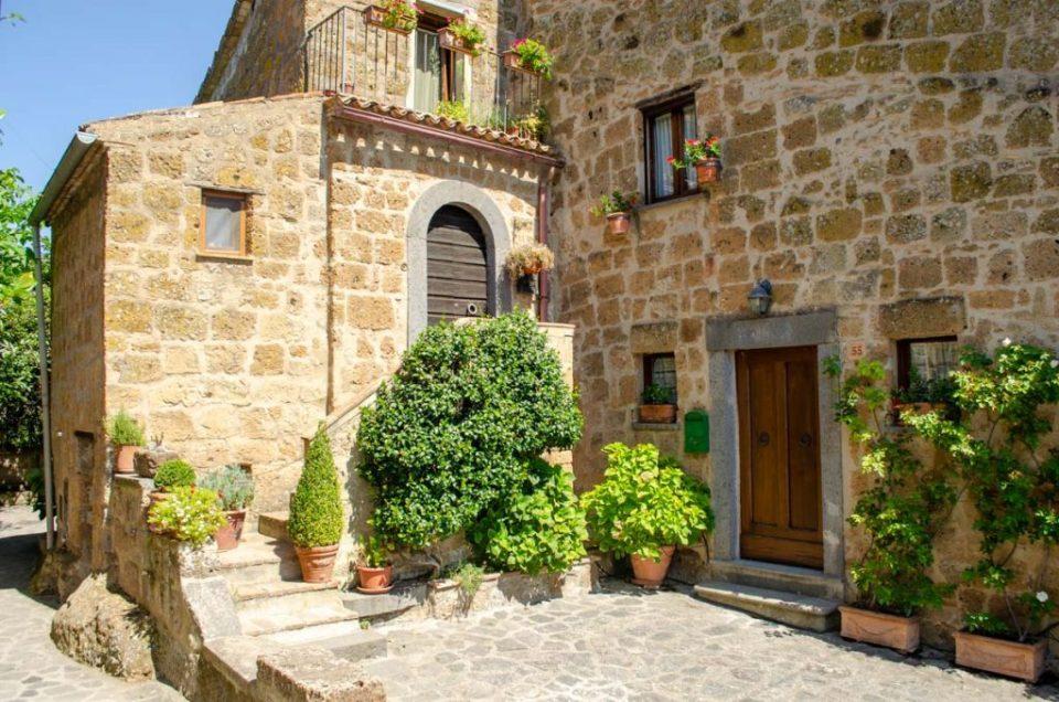 Casa a Civita di Bagnoregio